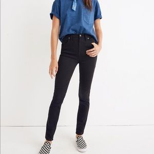 Madewell Tall High-Rise Skinny Jeans Johnny Wash